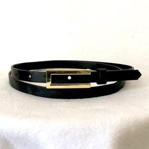 Thin Black Belt